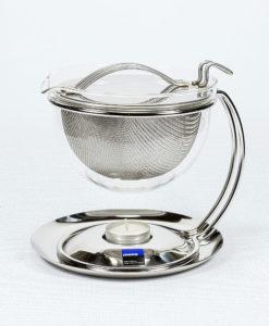 mono filio Teekanne mit integriertem Stövchen, 0,6 l