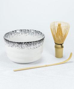 Matcha Set (Schale Weiß)