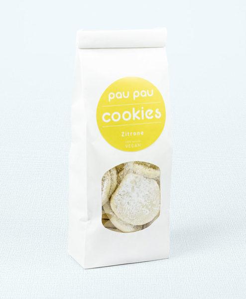 paupau Cookies Zitrone