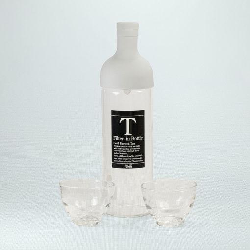 Cold Brew Set Weiß mit 2 Gläsern