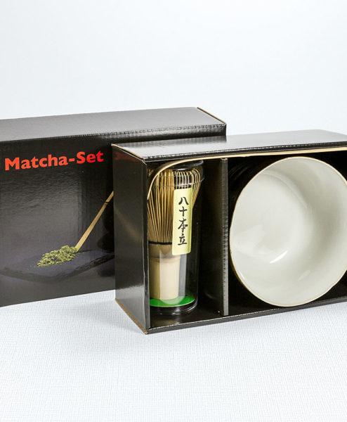 Matcha Set (Schale Fukuro)