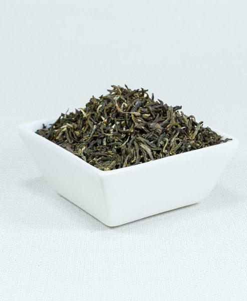 Grüner Tee China Jasmintee Bio in weißer Schale
