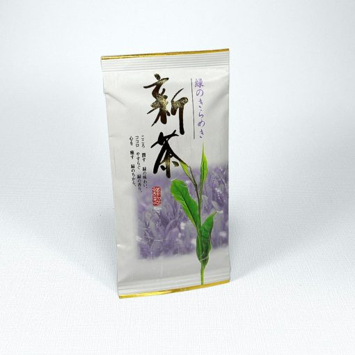 Japanischer Grüntee Shincha Oku Midori in Tüte
