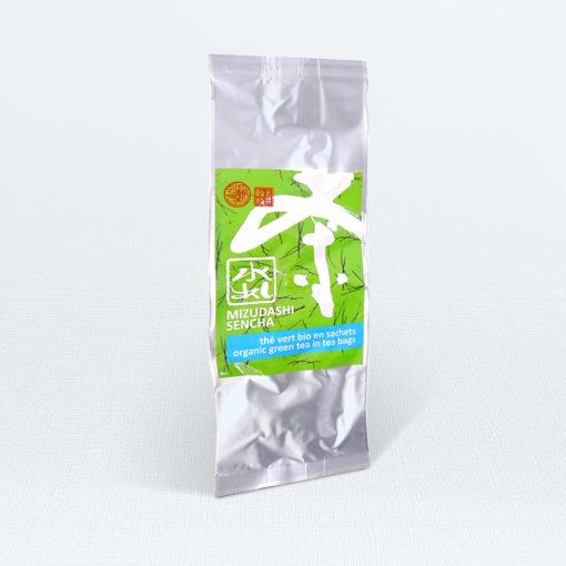 Grüner Tee Morimoto Mizudashi Sencha Bio im Beutel