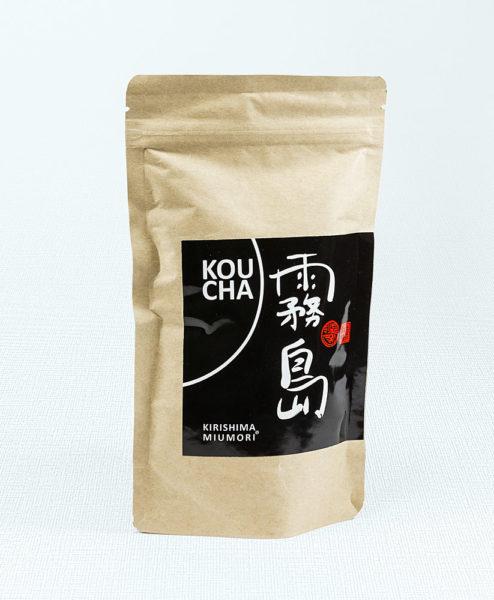 Schwarzer Tee Kirishima Miumori Koucha Bio in Tüte