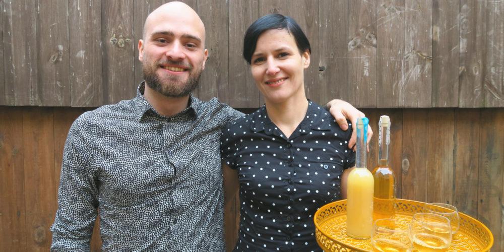 Daniel und Nadin von Final Destillation.