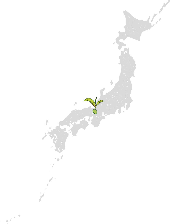 Japan Karte Kyoto