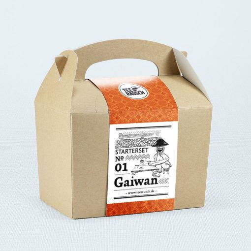 Gaiwan-Geschenkbox Starter Set Gaiwan