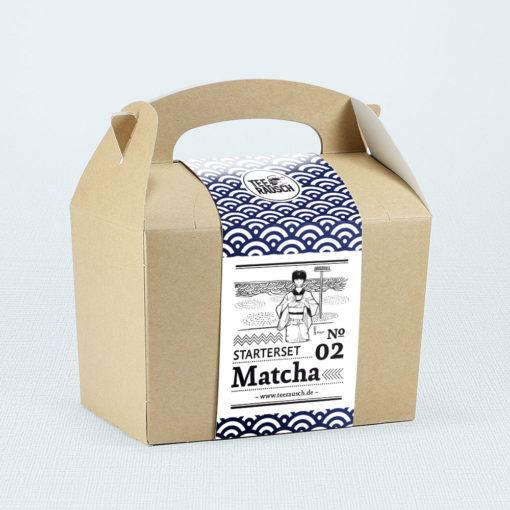 Matcha-Geschenkbox Starter Set Matcha