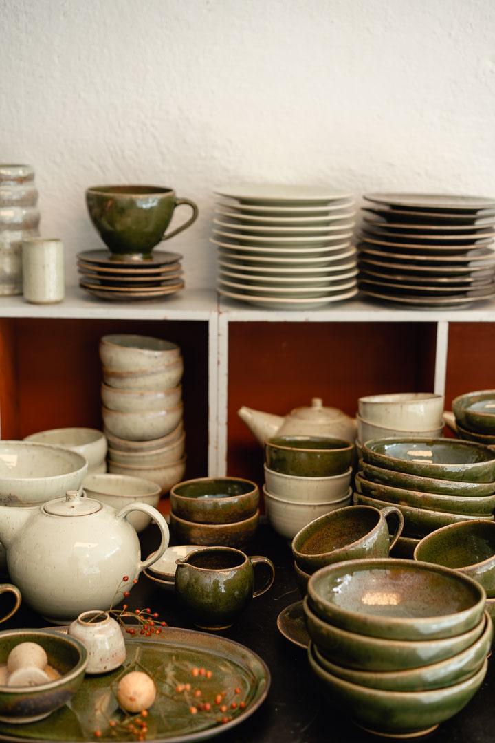 Franziska M. Köllner Keramik gestapelt