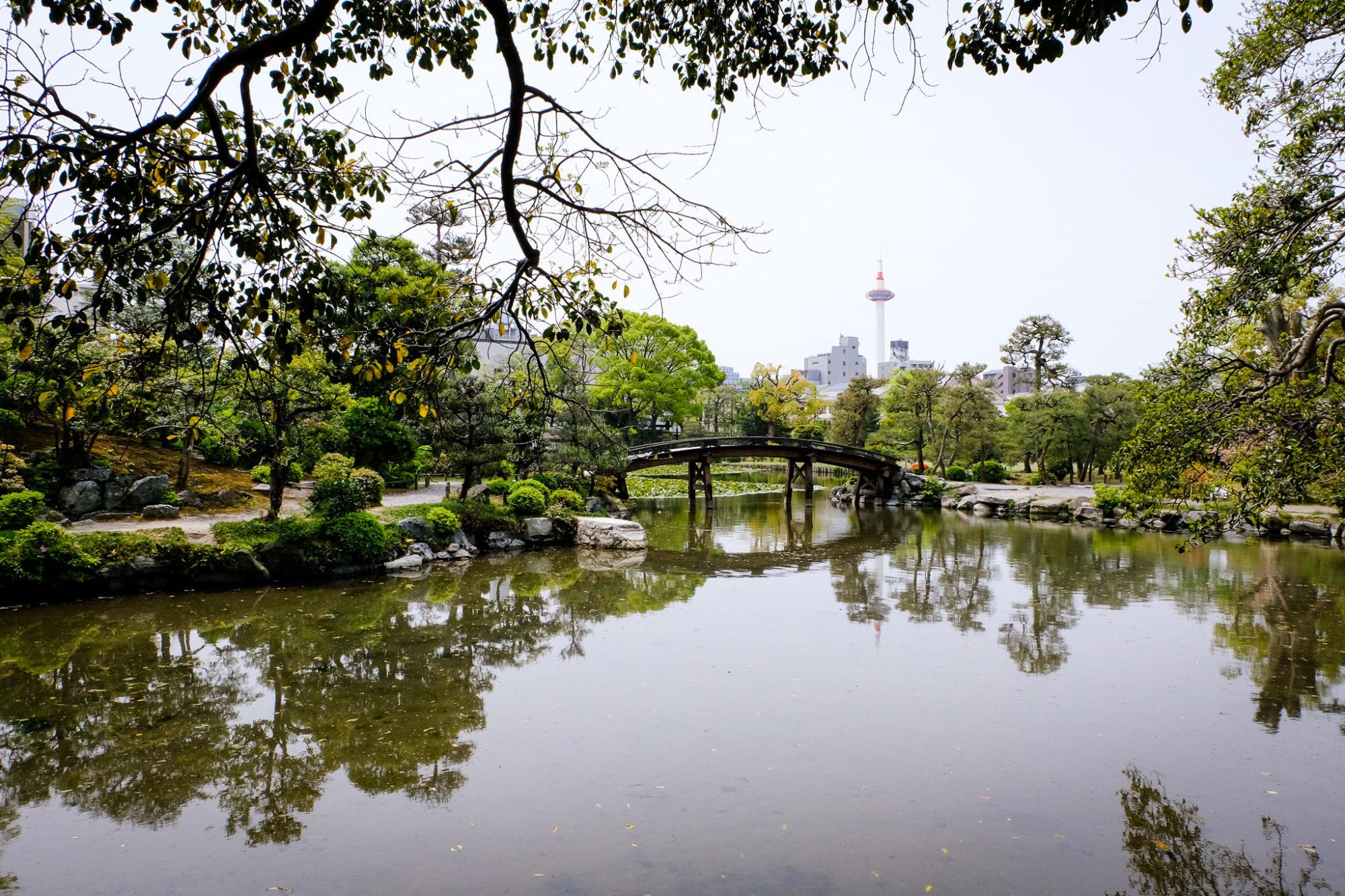 Japan Kyoto Shosei en Garten