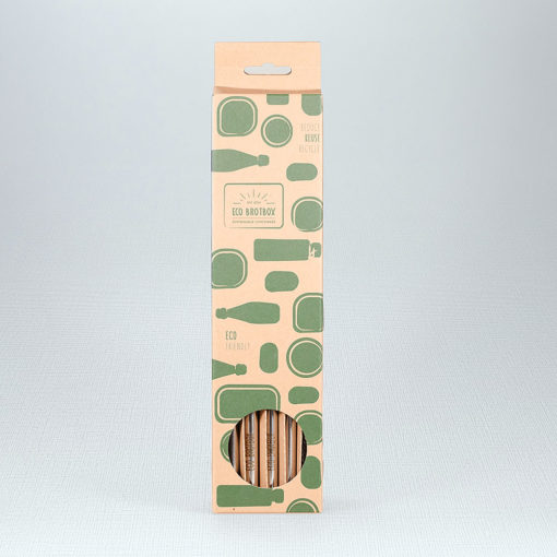 Eco Brotbox Trinkhalme 4er Set