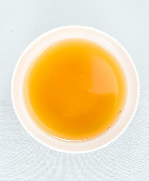Teeschale mit aufgegessenem Namastee