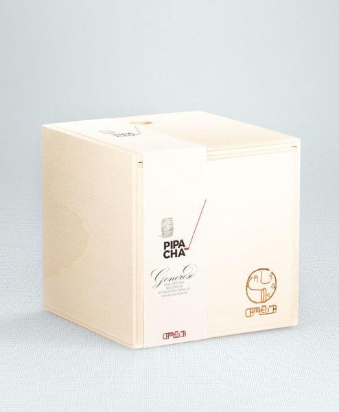 Holzbox mit Pipa Cha Bio