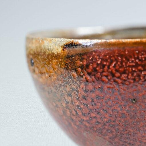 Teeschale rotbraun 230 ml Hendrik Schöne