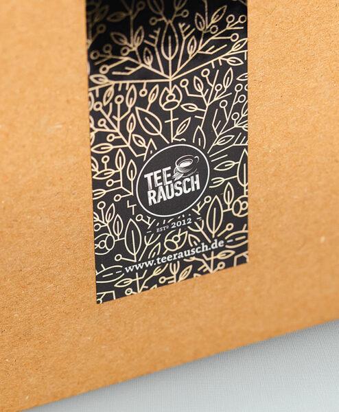 Rückseite Box Teeadventskalender
